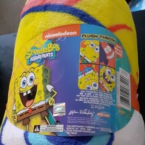 Sponge Bob SquarePants Fleece Throw